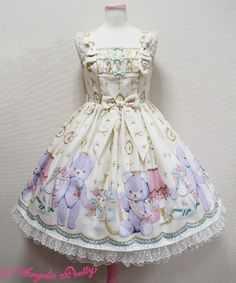 Angelic Pretty - Charlotte's Bear JSK