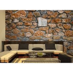1000 images about muros de piedra on pinterest b b - Muros decorativos para interiores ...