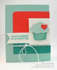Sprinkles of Life & Tree Builder Punch card shared by Dawn Olchefske #dostamping #stampinup