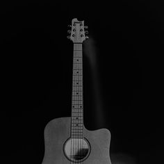 Papers.co wallpapers - mw80-guitar-art-bw-dark-music-song-black - http://papers.co/mw80-guitar-art-bw-dark-music-song-black/ - city, music