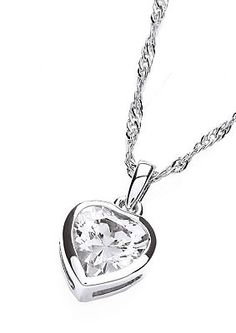 Kette mit Anhänger, »The Romance Collection«, Buckley London im Universal Online Shop Shops, Silver, London, Shopping, Jewelry, Fashion, Morning Of Wedding, Romantic Gifts, Wedding Bride
