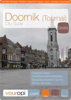 Gratis Ready to go City Guide Doornik (Tournai) van Youropi.com. Ontdek de beste restaurants, leukste winkels, leuke activiteiten en evenementen met deze gratis stadsgids!