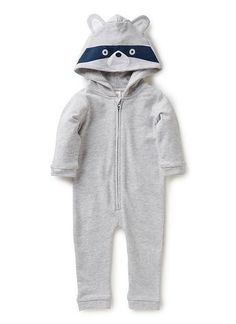 Baby Clothes Jumpsuits Newborn Clothes Jumpsuits | Nb Racoon Jumpsuit | Seed Heritage