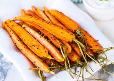 Sesamrostade morötter med sås | MåBra - Nyttiga recept Food, Meal, Eten, Meals