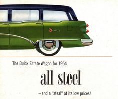 1954 Buick Century Estate Wagon