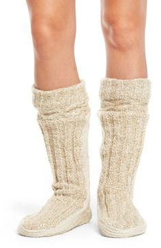 Urban Knit Urban Knit Bootie Slipper Socks available at #Nordstrom