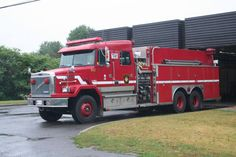 Ontario Autocar Crew Cab Fire Truck W/ Superior Chassis