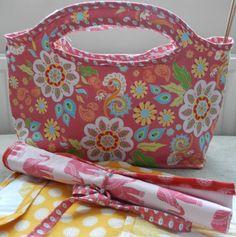 Knitting Bag Tutorial #rileyblakedesigns