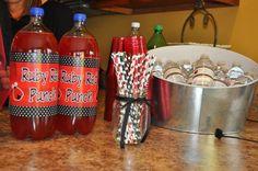 Ladybug party drinks