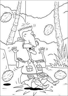 Dibujos para Colorear. Dibujos para Pintar. Dibujos para imprimir y colorear online. Rugrats 69
