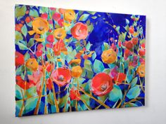 Reserved for Melissa. Splendor No. 15. Original Acrylic Painting on stretched canvas by Jess Franks