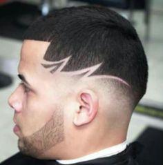 Cortes de pelo con dibujo barber shop
