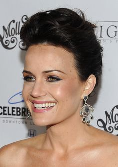 "Carla Gugino Photos - Premiere Of ""The Mighty Macs"" - Zimbio"