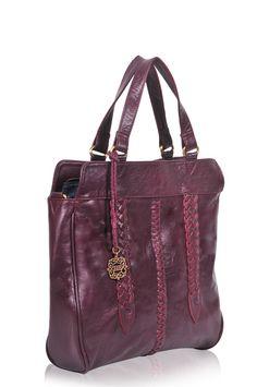 FRIDA. Leather handbag / convertible bag / leather by BaliELF
