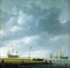 Simon de Vlieger  Seashore  1630s