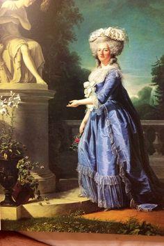 Madame Victoria --por M. Labille-Guiard