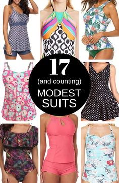 Modest Swimsuits for Women Flattering modest bathing suits for women whatever your body shape. Amazing one piece swim suits as well as super cute two piece bathing suits that cover just the right amount of skin at Shop modest tankini swimsuits for women a Flattering Swimsuits, Tankini Swimsuits For Women, Modest Swimsuits, Plus Size Swimwear, Two Piece Swimsuits, Beach Swimsuits, Plus Size Bikini Bottoms, Maternity Swimsuit, 1 Piece
