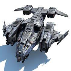 Sci Fi Dropship Model available on Turbo Squid, the world's leading provider of digital models for visualization, films, television, and games.