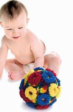 Ravelry: Flower Grab Ball pattern by Darla J. Fanton