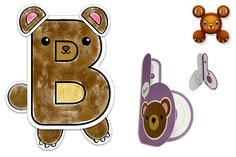 """B isn't just for bear anymore; B is bear! Listen to Nemie B's silly sounds and talk about what it looks like. """"Meet the Nemie B"""" is free on YouTube."""