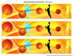 Sports are an important part of the school experience and a good hook to draw interest in a topic. With this product you can decorate your bulletin boards with basketball themed borders to visually enhance displays, engage students interest, and target themes for certain times of the year, like March Madness or during basketball season at your school.This product includes 1 basketball bulletin board sized 10.5 X 2.25 on one 11 X 8.5 page.