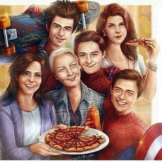 Spider Man Family!