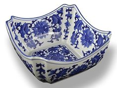 A traditional Chinese blue and white hand-crafted octagon serving bowl, excellent both for decoration and daily use. Good for serving fruit, salad and vegetables. SpinnerBros - Lifetime SpinnerBros - LifetimeDog Training Ebook (+Vids and mp3 of same), PLR, (97-pages). Hot NEW 97-page Ebook on... see more details at https://bestselleroutlets.com/home-kitchen/kitchen-dining/dining-entertaining/bowls/salad-bowls/product-review-for-blue-and-white-square-octagon-serving-bowls-sala