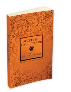 Secretul Florii de Aur. Cartea Constiintei si Vietii Aur, Tantra, Books, Libros, Book, Book Illustrations, Libri