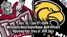 New Orleans Bowl Preview | Troy opens as light favorites vs North Texas #RLBowl #MeanGreen #RTW