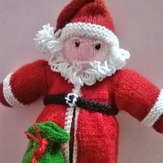 So #creativity runs in the #family. Here's an amazing #Handmade with #wool and stuffed with cotton #Santa with a bag full of #goodies...made by my #mom #gifting #toys #handmadetoys #instashop #themakersmarket