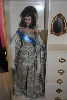 Original COA for Pink Portrait costume Franklin Mint Princess Grace doll outfit