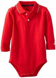 Hartstrings Baby-boys Infant Long Sleeve Polo Bodysuit