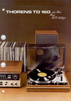 Vintage audio Thotens TD 160 Vintage Ad