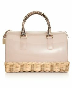 Furla Candy Straw Bauletto Bag Women's - Handbags