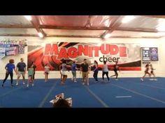Magnitude Cheer I Parent Practice - The Blue Team I Northridge, CA