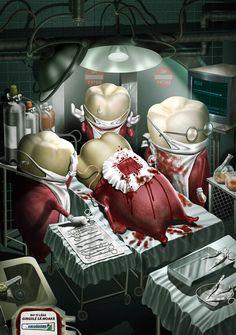[해외광고]파로돈탁스의 재미있는 광고입니다 ^^ 의인화의 미학!! : 네이버 블로그