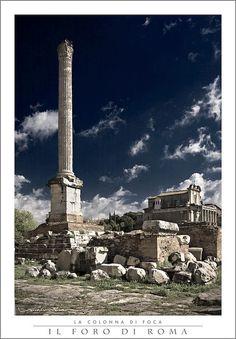 Il Foro di Roma--La Colonna di Foca
