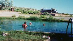 McGee Hot Springs, Denio NV - free campground with shower and pool