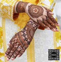 Henna is the most traditional part of weddings throughout India. Let us go through the best henna designs for your hands and feet!