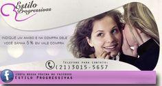 #facebook #campanha Estilo Progressivas