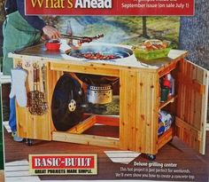 Wood magazine project -- Weber Kettle table - The BBQ BRETHREN FORUMS.