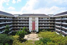 symmetric 'U' building - FPTK Universitas Pendidikan Indonesia