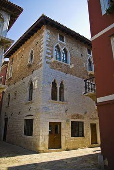 Croatia, Poreč, Palazzo Zuccato