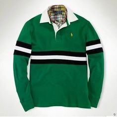 Men's Ralph Lauren Polo Green Long Sleeve Pony, shirts, t-shirts Ralph Lauren Long Sleeve, Polo Ralph Lauren, Lacoste Polo Shirts, Long Sleeve Polo, Cool Things To Buy, Gray Color, Mens Fashion, T Shirt, Equestrian