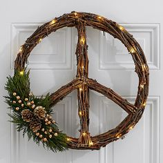Search for 18 peace on earth wreath Gold Christmas Decorations, Christmas Door Wreaths, Fall Wreaths, Christmas Time, Christmas Crafts, Holiday Decor, Deco Wreaths, Holiday Ideas, Christmas Ideas