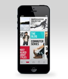 Levis App Design