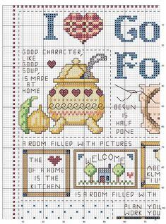 Schema punto croce Country-folk-1