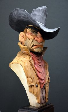 Lynn Doughty posted this on the Caricature Carvers fb page. Great detail on this carving and wonderful colors.