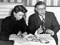 En compañia y con lápiz, Simone de Beauvoir.