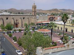 Hidalgo del Parral Chihuahua the plaza where we spend our Sundays before and after church. Ahhh! Memories